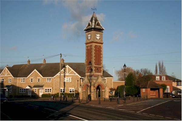 This is the home page picture of thr Warboys Clock Tower